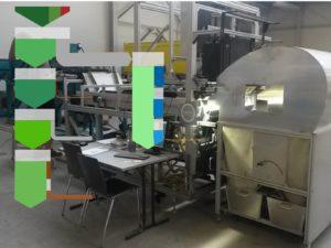 Sankey einer Massenbilanz und Sortiermaschine der Binder+Co AG (c) Ingenieurbüro Wellacher e.U.