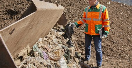 So viel Plastik im Kompost